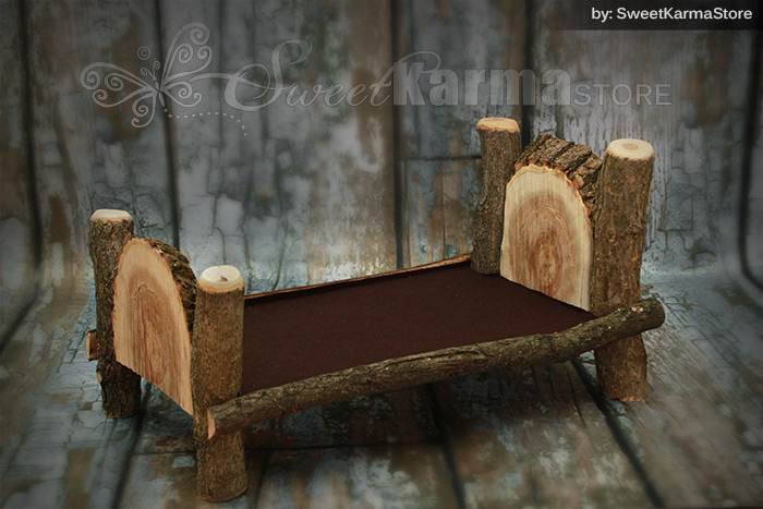 Newborn Log Bed Style 1 Sweetkarma Store